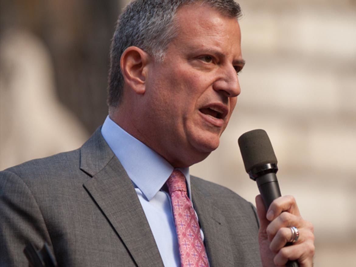 Mayor Bill de Blasio Agrees to Keep 'Fifth Firefighter' in New York City After Newspaper Expose