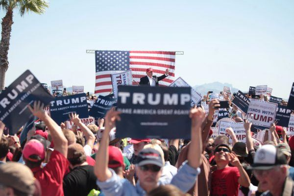 trump rally power shift to right