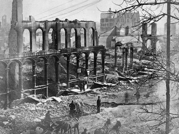 The Great Chicago Fire of 1871
