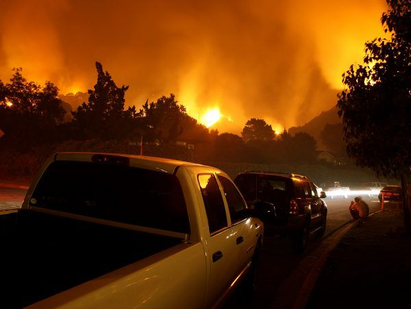 california forest wildfires
