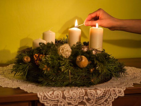 2nd Sunday of Advent wreath christmas faith church