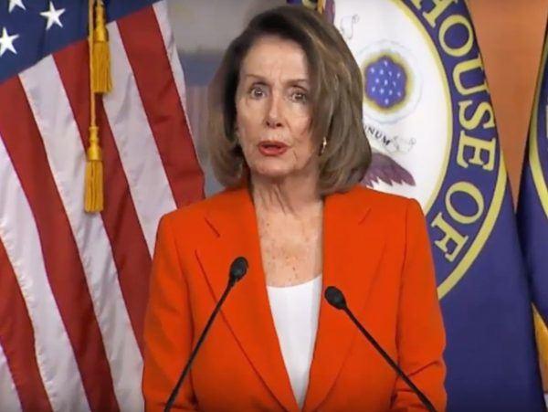 Nancy Pelosi Democrats God DACA Deal
