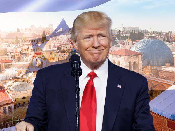 donald trump move isreali embassy jerusalem