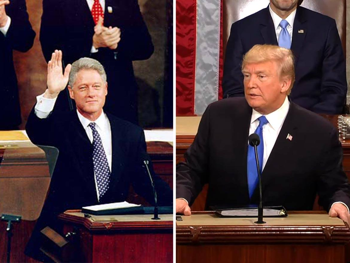 Donald Trump or Bill Clinton? Sometimes It's Hard to Tell on Immigration