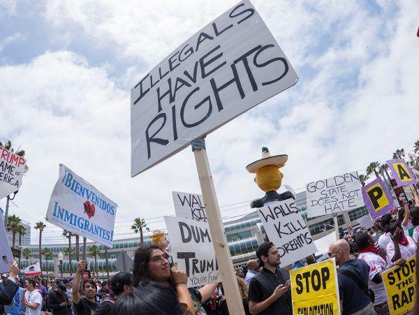 illegals immigrants sanctuary cities asylum ice