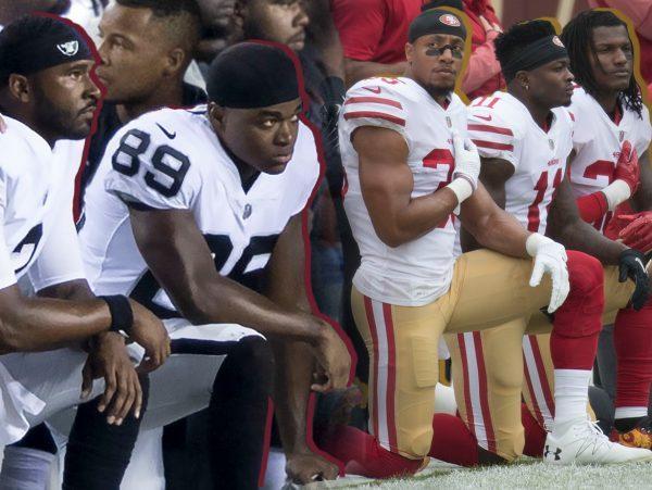 nfl super bowl kneelers players protests
