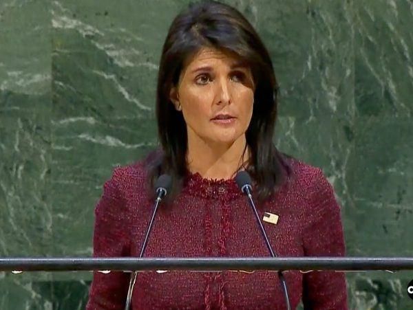 Nikki Haley Threatens New U.S. Airstrikes on Syria
