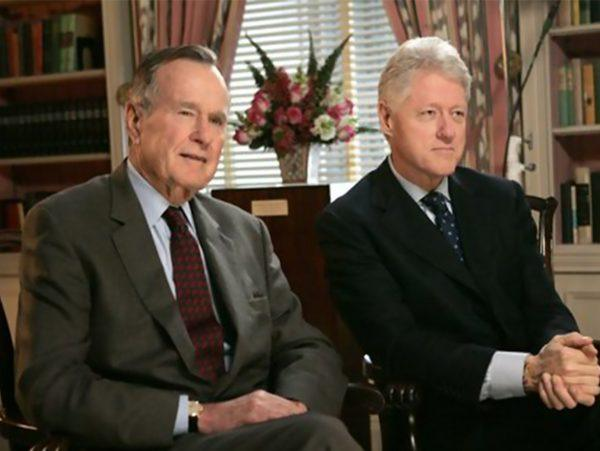 Bill Clinton George HW Bush Katrina Fund Given Millions of Now-Unaccounted-For Dollars