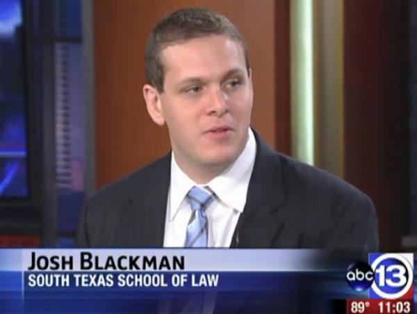 Josh Blackman South Texas School of Law