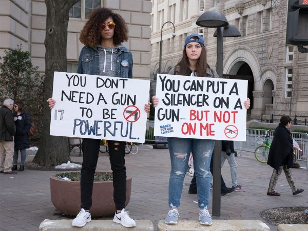 March for Our Lives Gun Control Protest Lee Habeeb