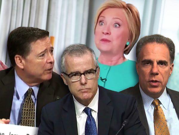 DOJ IG Report Hillary Clinton Michael Horowitz James Comey Andrew McCabe Michael Horowitz