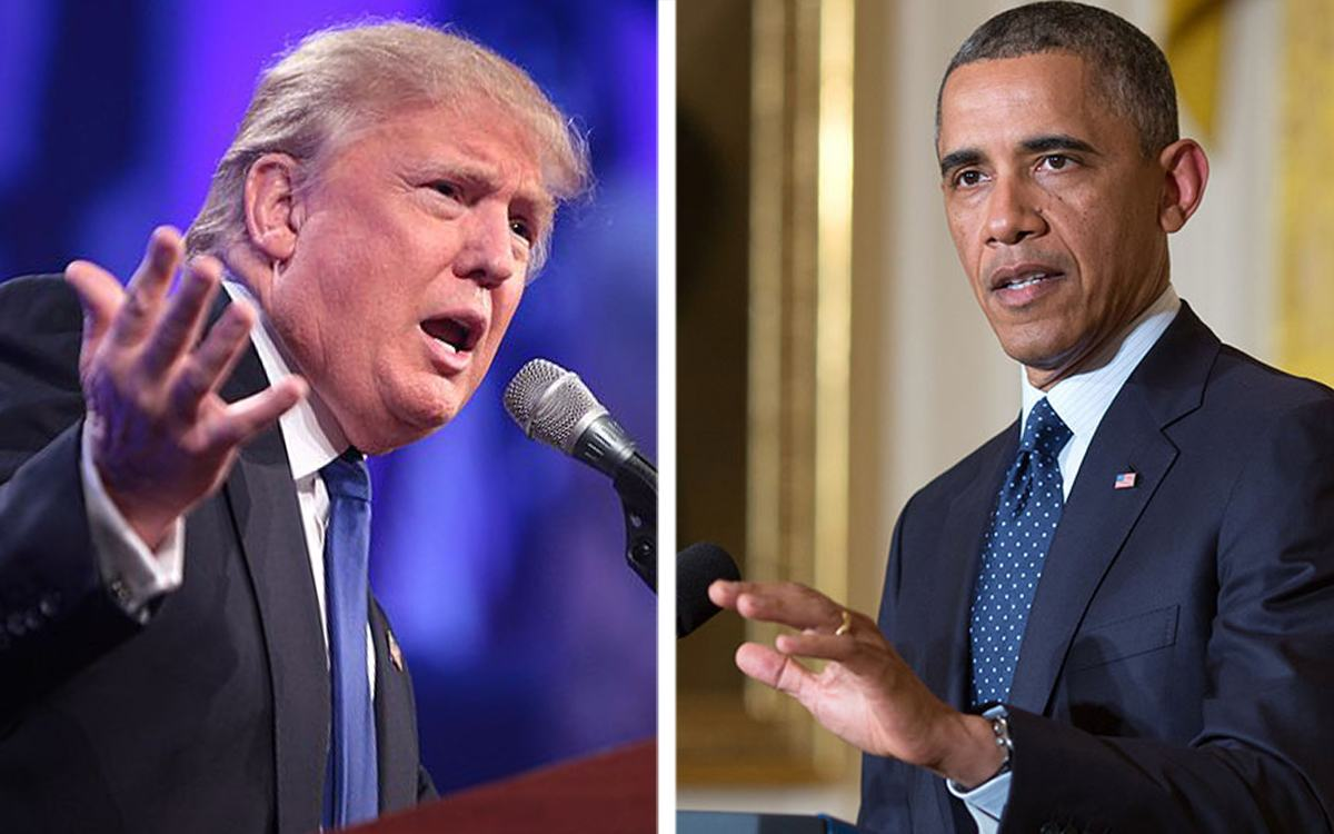 Not 'Much Daylight' Between Trump and Obama on Russia, Actually