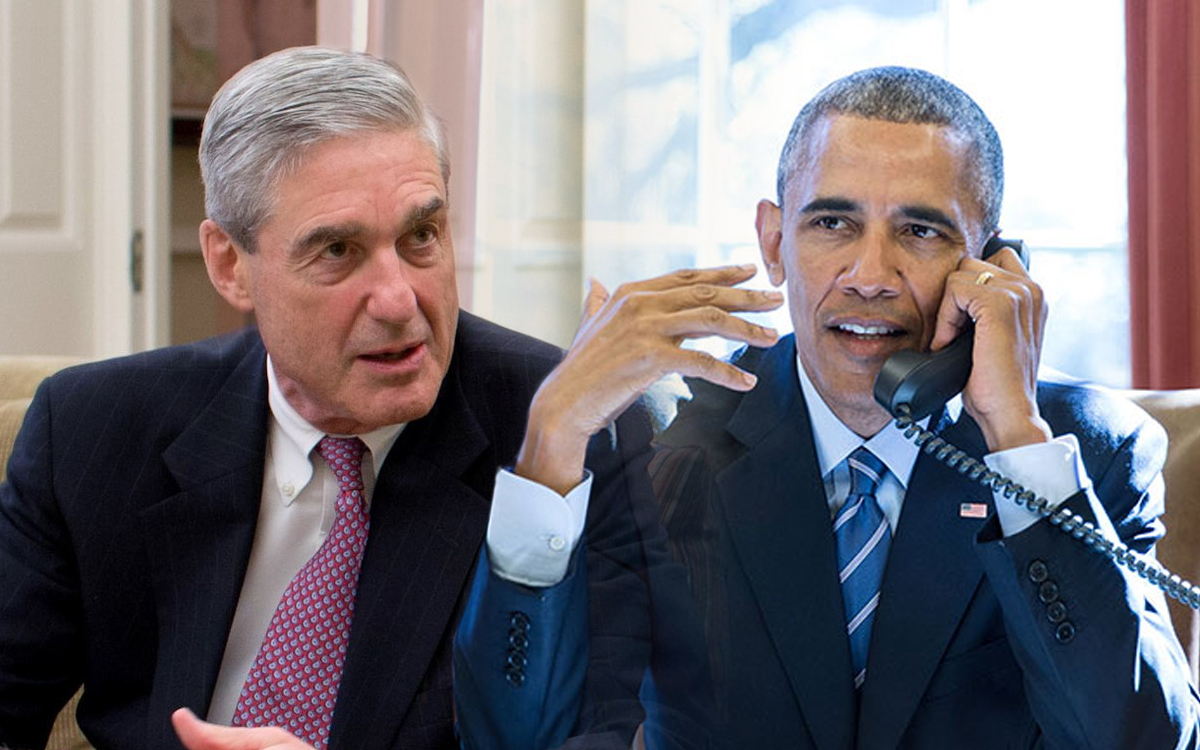 Obama is 'Responsible' for Mueller Investigation, Clapper Admits
