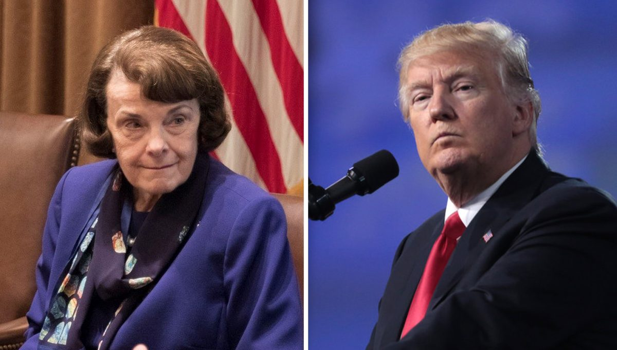 Feinstein Isn't Happy About Trump's Nominees to Ninth Circuit, Calls His Actions a 'Mistake'
