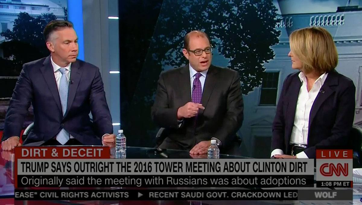 CNN Analyst Flips Script on Network's Anti-Trump Narrative — Reminds Them of Hillary's Collusion with the Russians