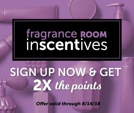 FrangranceRoom.com signup now and get 2x the points!