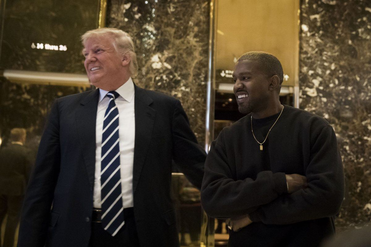 President Donald Trump Thanks Kanye West for Telling the 'Truth'