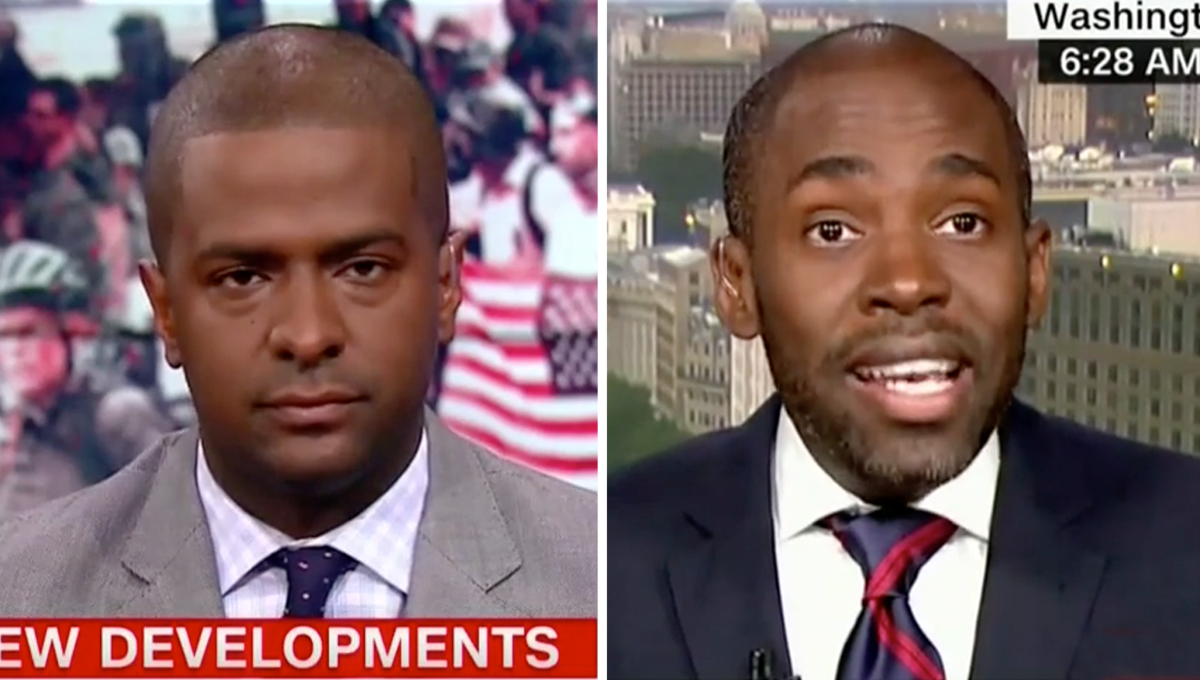 CNN Panel Erupts After Contributor Slams the Network for 'Peddling Lies' About Blacks Who Work for Trump