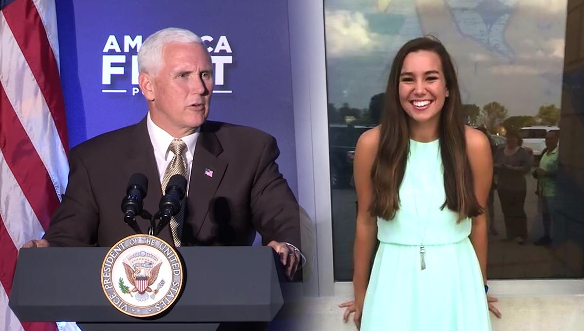 Mike Pence Visited and Prayed with Tibbett Family as Search for Mollie Continues