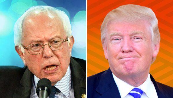 Bernie Sanders Trump pathological liar