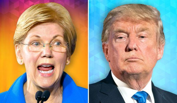 Trump Warren