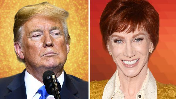 Trump-Hater Kathy Griffin to Receive 'Comedian of the Year' Award