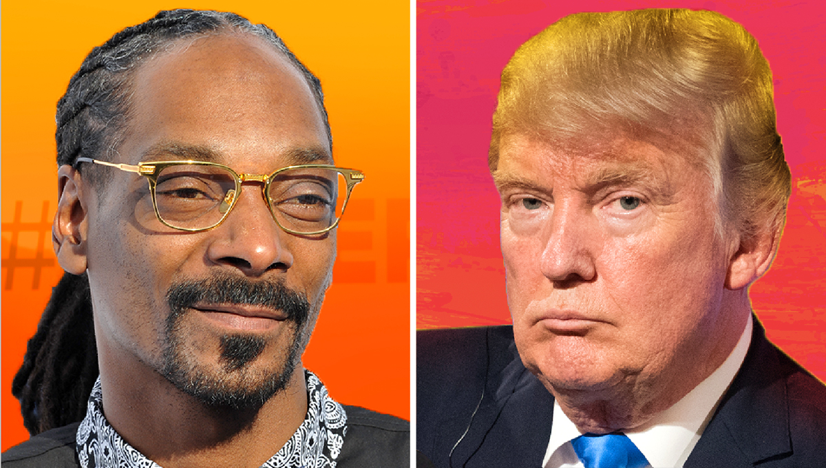 Snoop Dogg Calls Trump Supporters 'Racist' in Vulgar Rant
