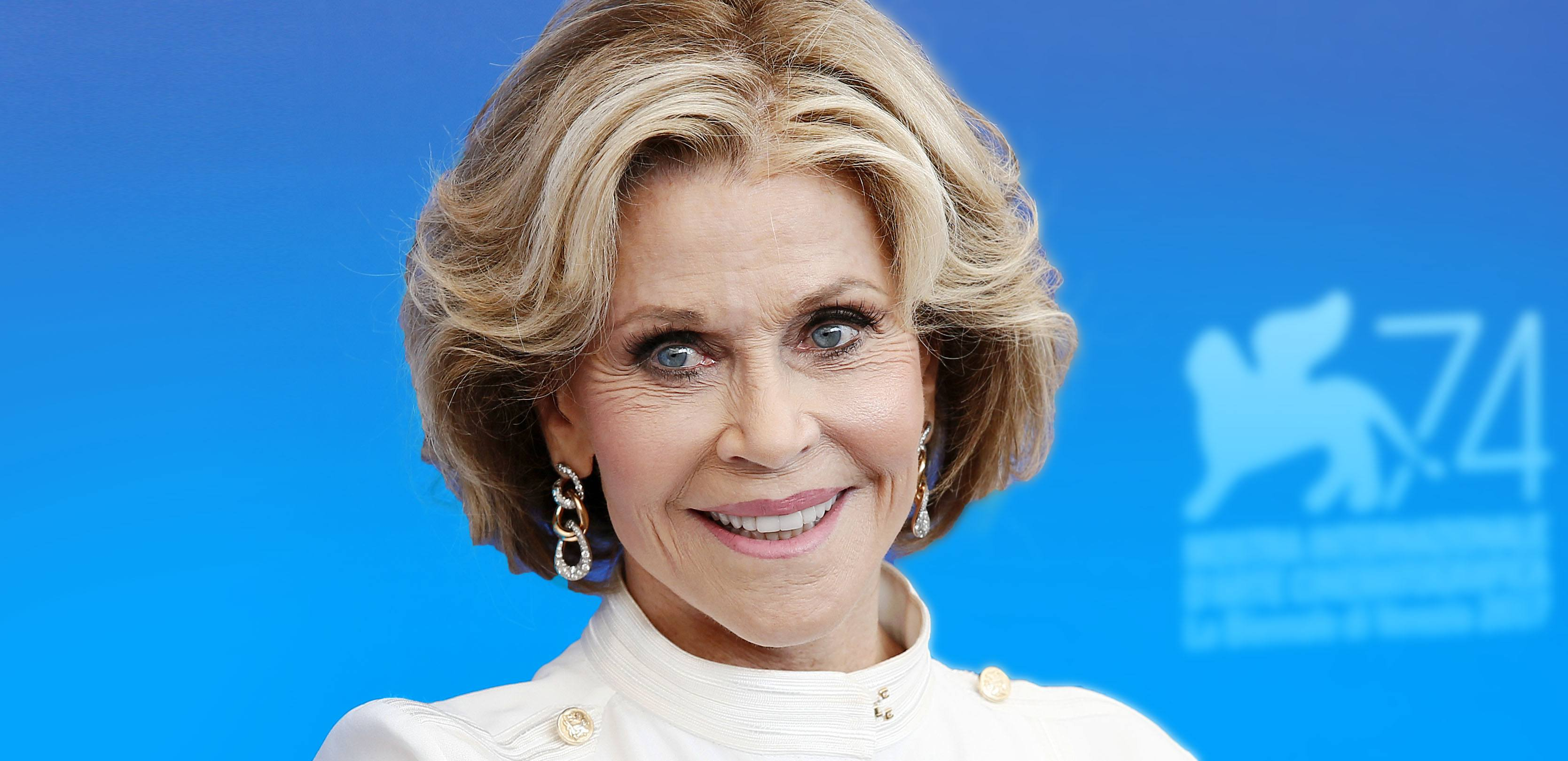 Jane Fonda Insists She's Been a 'Climate Scientist' for Years