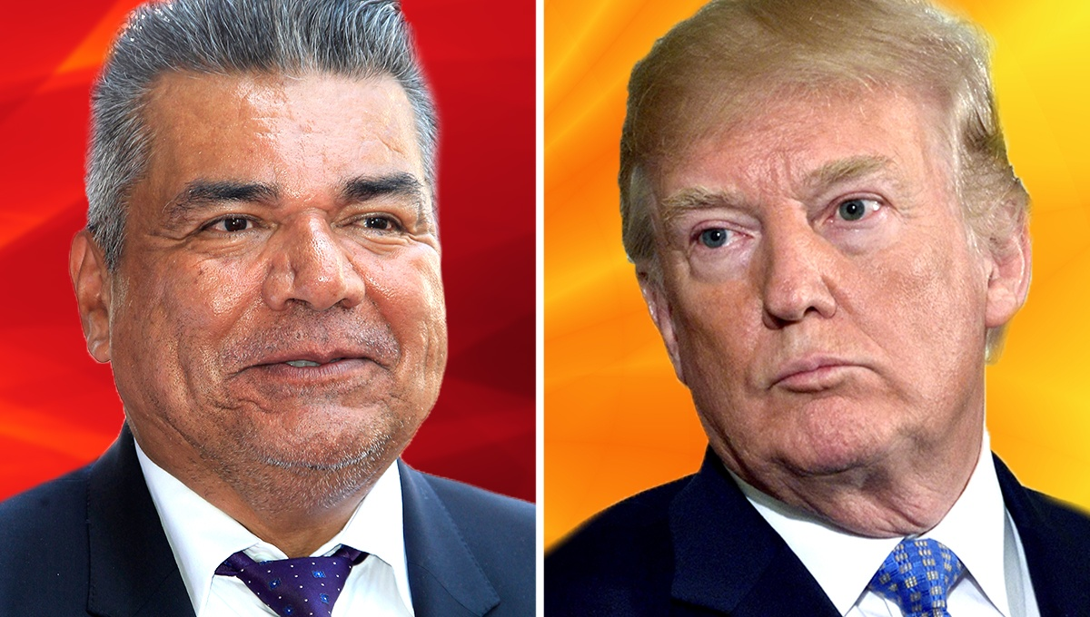 Comedian George Lopez Gets Into a Scuffle with Trump Supporter