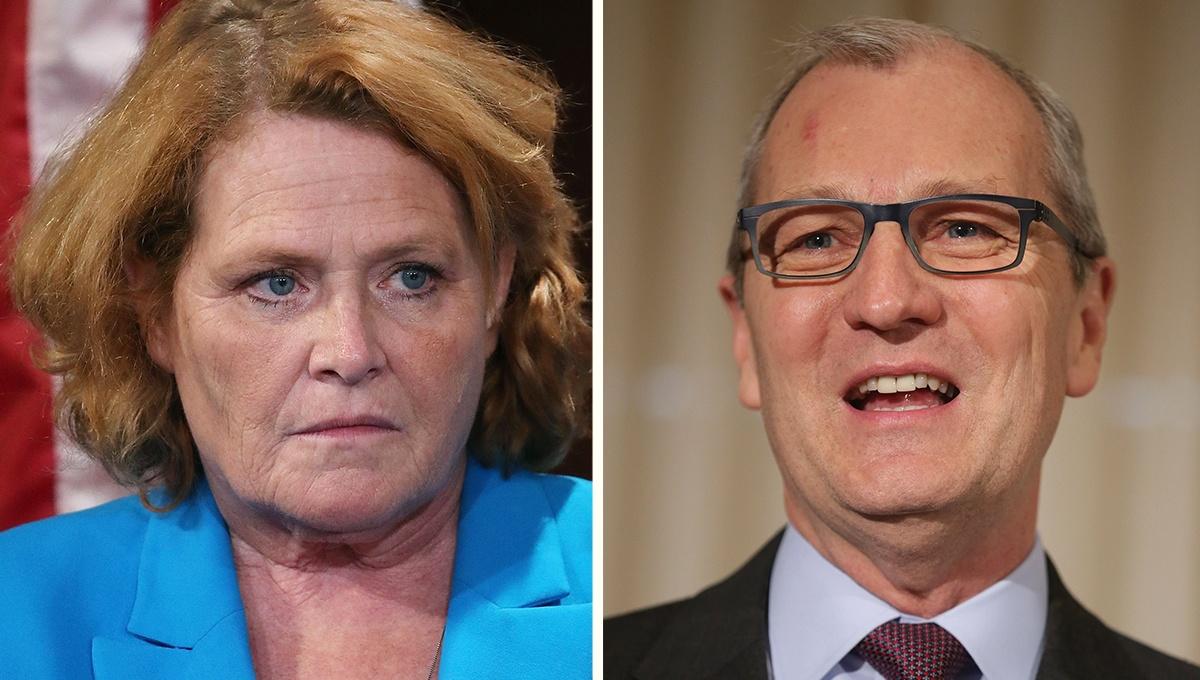 Sen. Heidi Heitkamp Apologizes for Embarrassing Snafu