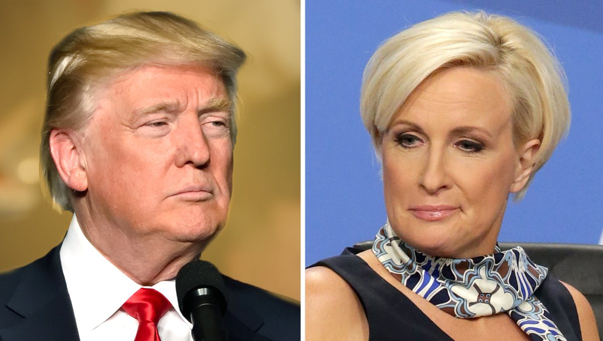 More Mayhem from Mika: Goes After Trump Again