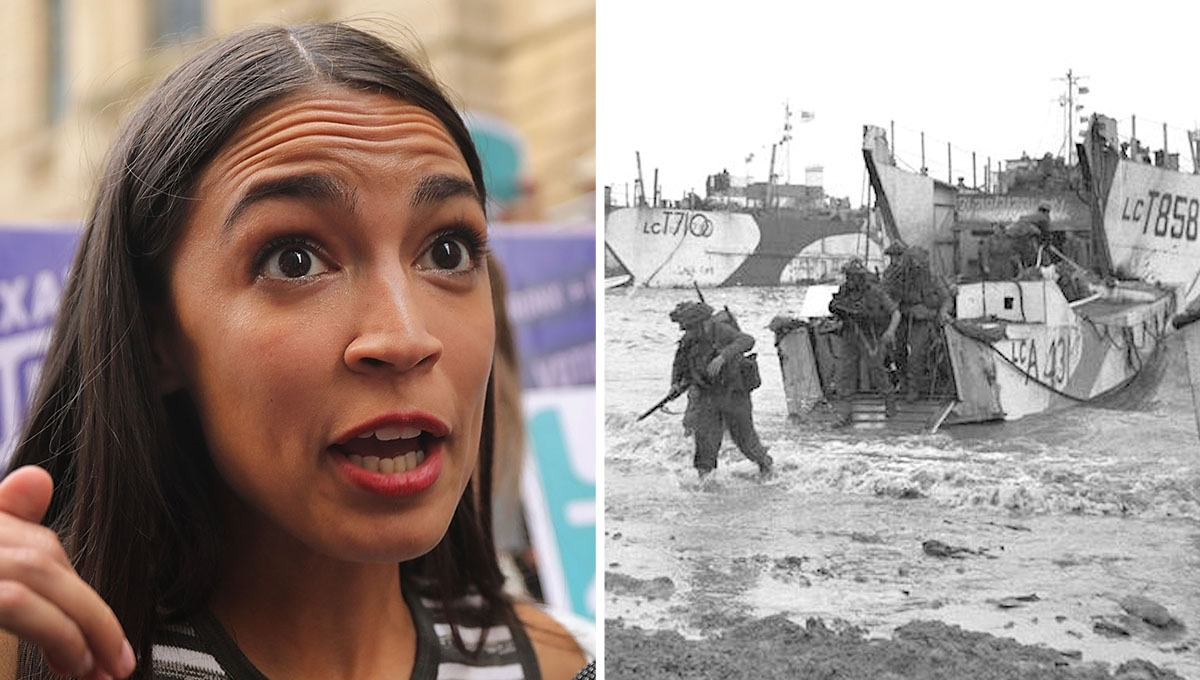 Ocasio-Cortez Compares Combatting Nazis in World War II with Fighting Climate Change