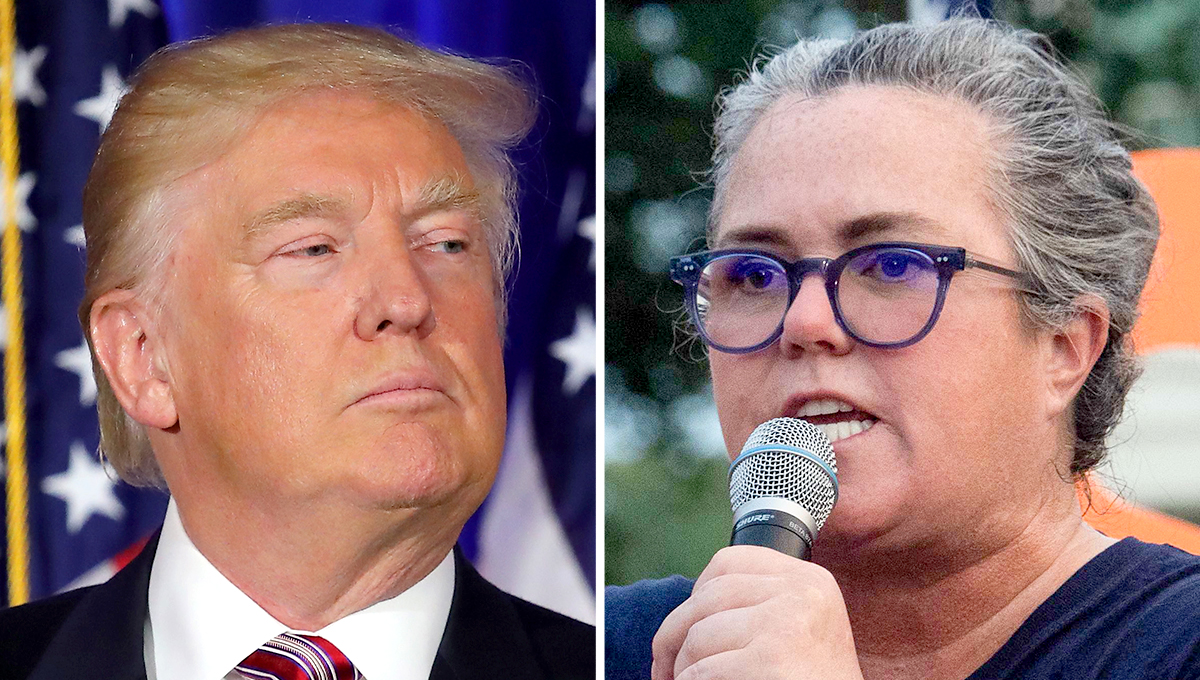 Rosie O'Donnell Calls for Trump to 'Rot in Jail' Over National Debt