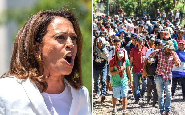 Kamala Harris and Migrant Caravan