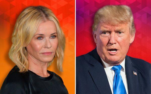 Chelsea Handler and Donald Trump