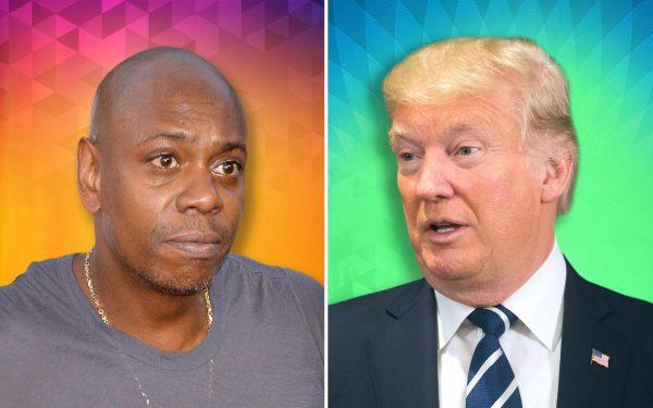 Dave Chappelle and Donald Trump