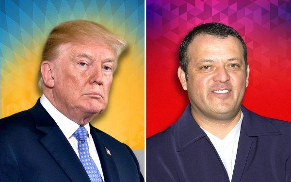 Paul Rodriguez and Donald Trump