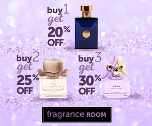 FrangranceRoom.com | Buy 1, get 20% off. Buy 2, get 25% off. Buy 3, get 30% off.