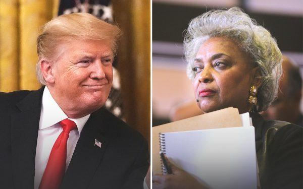 Donald Trump and Brenda Snipes
