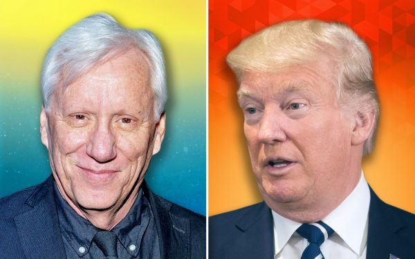 James Woods and Donald Trump