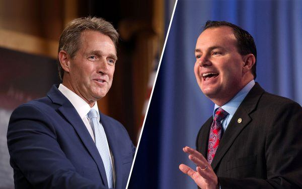 Jeff Flake and Mike Lee