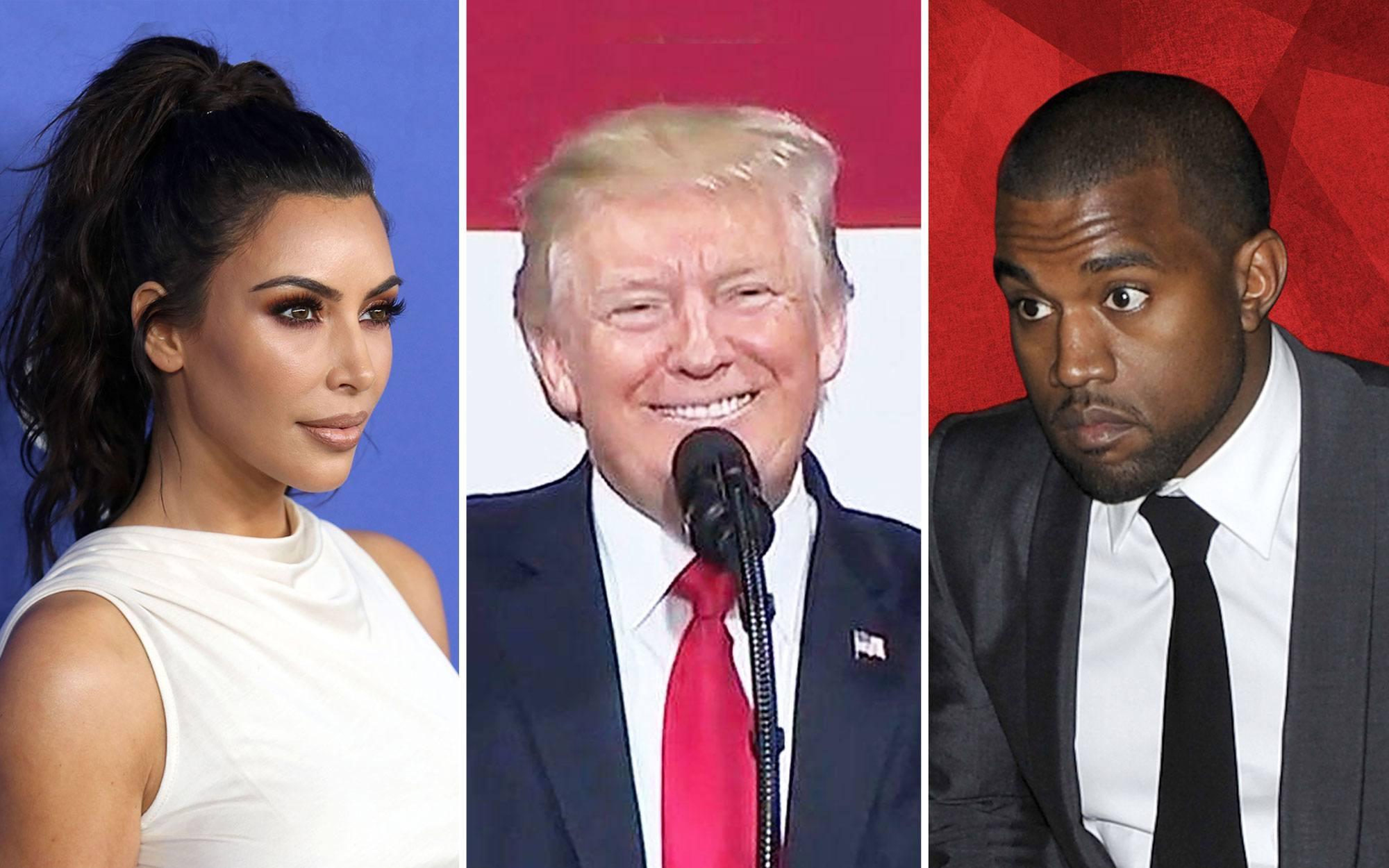 Kim Kardashian Says She Has 'Educated' Kanye West on Trump's Policies