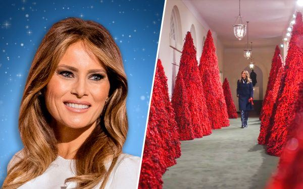 Melania Trump and The White House Christmas Decorations
