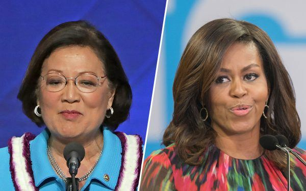 Mazie-Hirono-and-Michelle-Obama