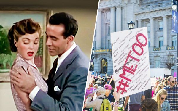 Baby-It's-Cold-Outside-movie-and-metoo-protesters