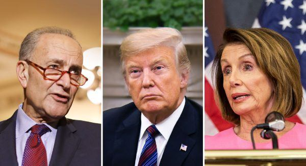 Chuck-Schumer-and-Donald-Trump-and-Nancy-Pelosi-