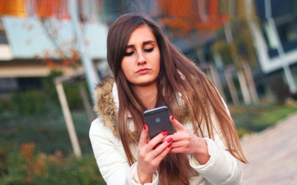 Girl-texting