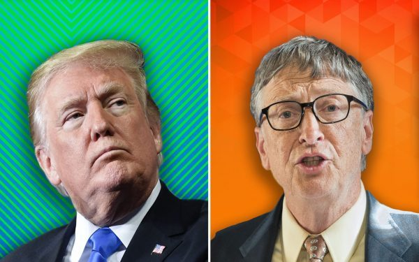 Donald-Trump-and-Bill-Gates