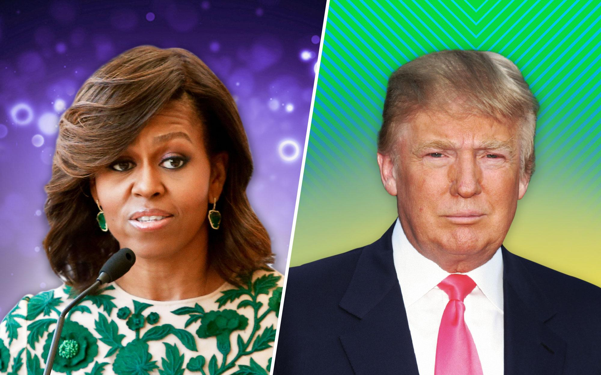 Michelle Obama May Have Taken a Pot Shot at President Donald Trump