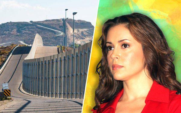 Border-Wall-and-Alyssa-Milano-2